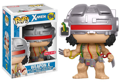 TARGET EXCLUSIVE-WEAPON X-X-Men Funko PoP!