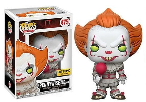 HOT TOPIC EXCLUSIVE-PENNYWISE-It Funko PoP!