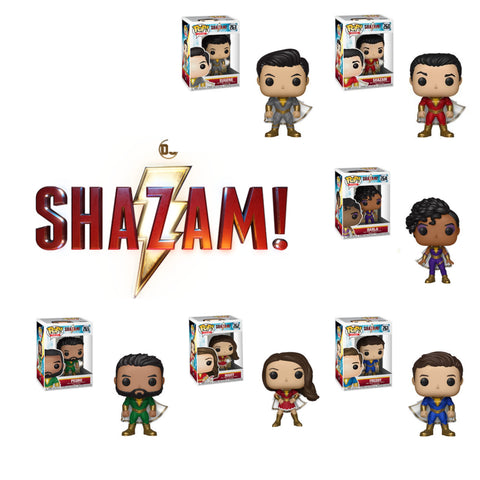 POP! HEROES: SHAZAM Bundle (Set Of 6)