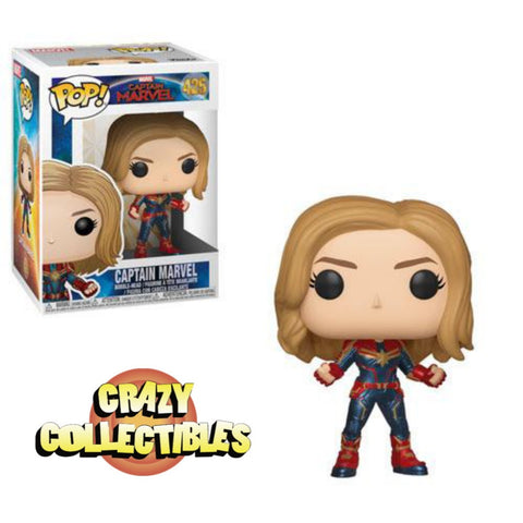 CAPTAIN MARVEL-Funko PoP!