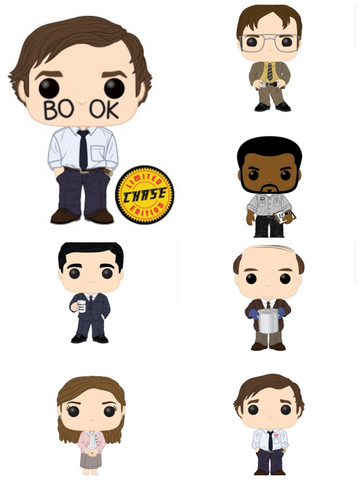 POP! TV: THE OFFICE W/ Chase Bundle (Set Of 7)