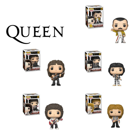 QUEEN-Funko PoP! Bundle (Set Of 5)