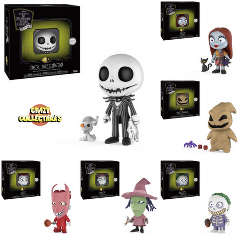 5 STAR-THE NIGHTMARE BEFORE CHRISTMAS-Disney Bundle (Complete Set Of 6)
