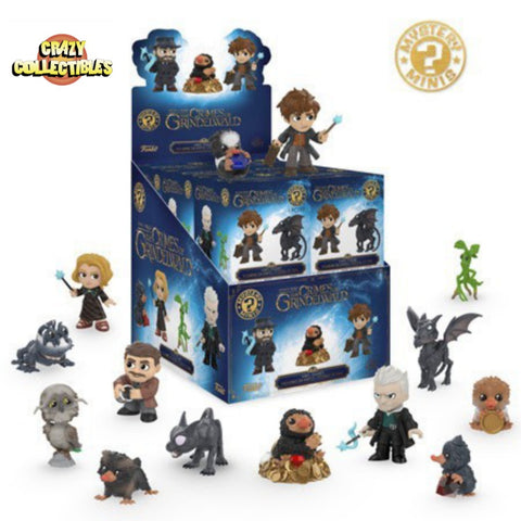 FANTASTIC BEASTS-Mystery Minis (Unopened Box Of 12)