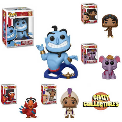 *PRE-ORDER* ALADDIN-Funko PoP! Bundle (Complete Set Of 5) COMING NOVEMBER