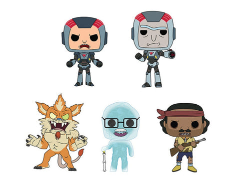 POP! ANIMATION: RICK AND MORTY Bundle (Set Of 5)