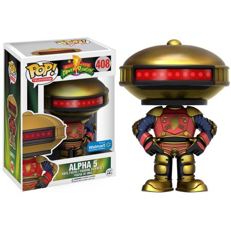ALPHA 5-Mighty Morphin Power Rangers Funko PoP!