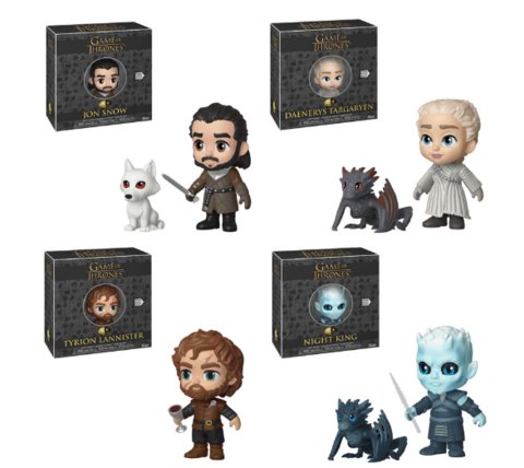 5 STAR GAME OF THRONES S10-Bundle (Set Of 4)