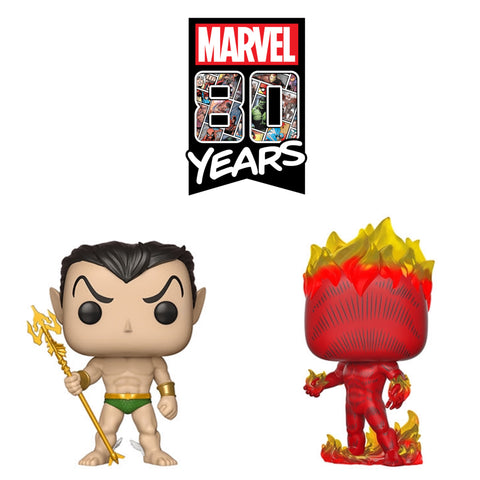 PoP! Marvel 80th Bundle (Set Of 2)