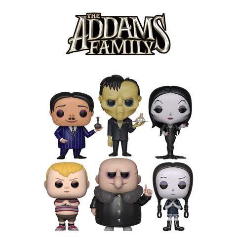 PoP! Movies: Addams Family Bundle (Set Of 6)
