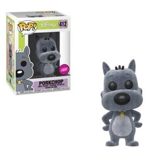 CHASE-FLOCKED-PORKCHOP-DISNEY DOUG Funko PoP!