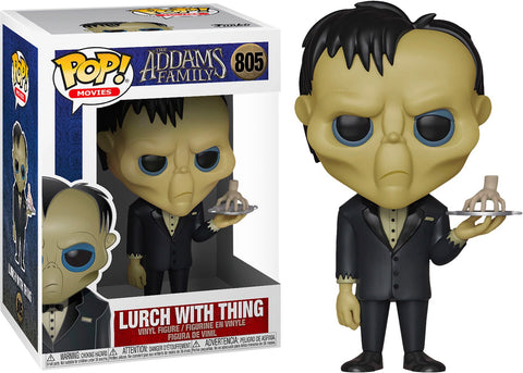 PoP! Movies: The Addams Family-Lurch W/ Thing