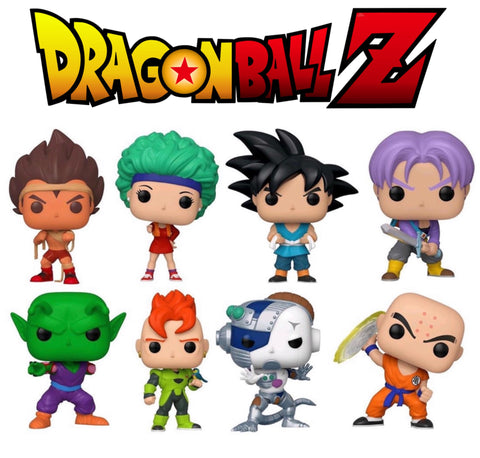 PoP! Animation: Dragonball Z (Bundle Set Of 8)