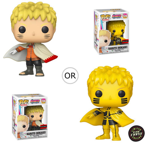 PoP! Animation: Boruto Naruto Hokage- AAA Anime Exclusive (Chance of Chase) COMING SOON