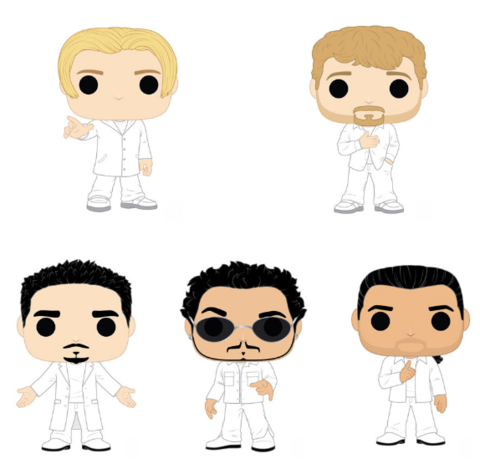 PoP! Rocks: Backstreet Boys- Bundle (Set Of 5)