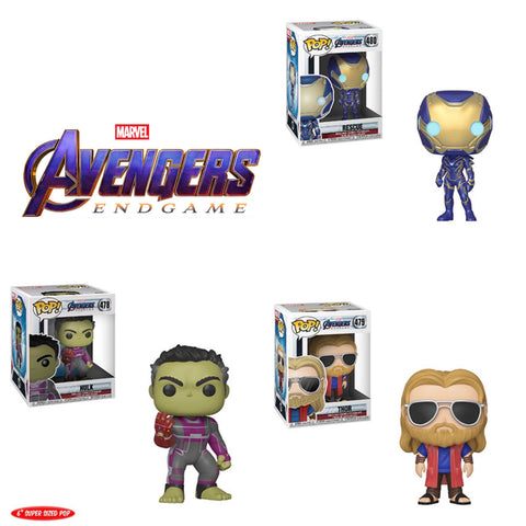 *PRE-ORDER* POP! MARVEL: Avengers Endgame Bundle (Set Of 3) COMING SOON