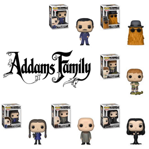 POP! TV: THE ADDAMS FAMILY (Set Of 6)