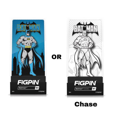 FIGPIN- BATMAN CLASSIC COMICS: Batman (1 in 6 Chance for the Chase)
