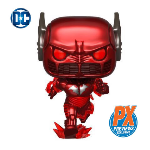 POP! D.C. HEROES: Dark Knights Metal Red Death Batman-PX Exclusive