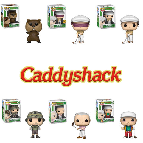 POP! MOVIES: CADDYSHACK W/ Chase Bundle (Set Of 6)
