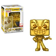 2018 E3-KING DICE (Gold)-Cuphead Funko PoP!
