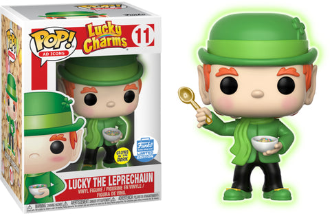 FUNKO SHOP EXCLUSIVE- GITD LUCKY THE LEPRECHAUN Funko PoP!