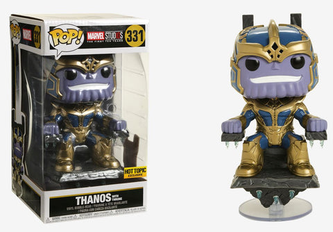 HOT TOPIC EXCLUSIVE THANOS ON THRONE