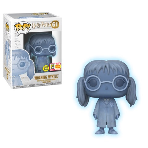 2108 SDCC-SHARED EXCLUSIVE-MOANING MYRTLE-Haryy Potter Funko PoP!
