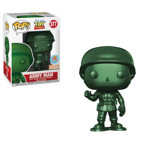 BOXLUNCH EXCLUSIVE-METALLIC ARMY MAN-Toy Story Funko PoP!