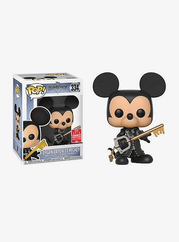 2108 SDCC-SHARED EXCLUSIVE-ORGANIZATION 13 MICKEY-Kingdom Hearts Funko PoP!