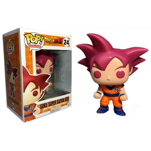 GOKU (SUPER SAIYAN GOD)-Dragon Ball Z Funko PoP!
