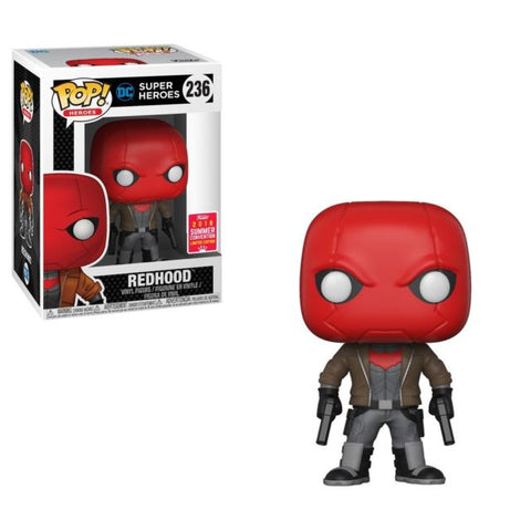 2018 SDCC-SHARED EXCLUSIVE-RED HOOD-D.C. Funko PoP!