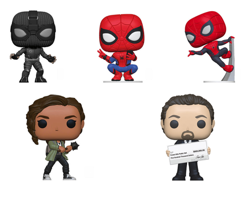 POP! SPIDER-MAN: Far From Home Bundle (Set Of 5)