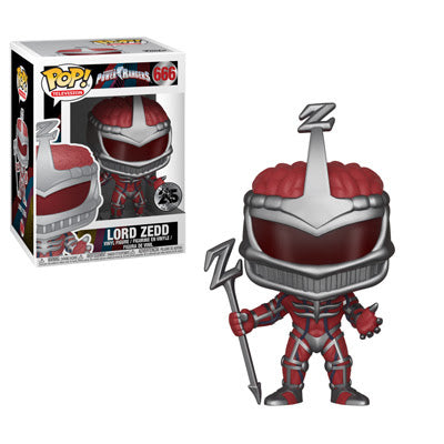 LORD ZEDD-25th Anniversary Power Rangers Funko PoP!