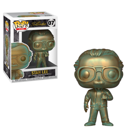 PoP! Icons: Stan Lee Patina)