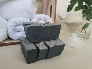 Bentonite Clay and Activated Charcoal Face Cleansing Bar