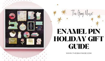 Enamel Pin Holiday Gift Guide for the Crafters, Artists, and Makers
