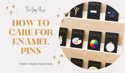How To Care For Enamel Pins