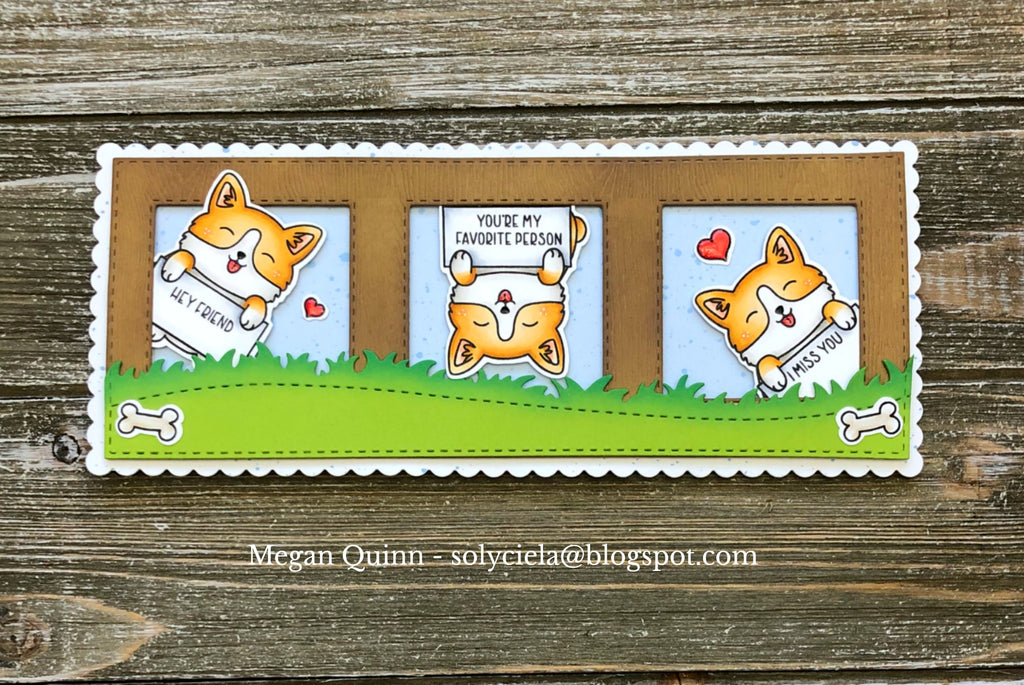 The Gray Muse Dogs in the Craft Room Stamp Set