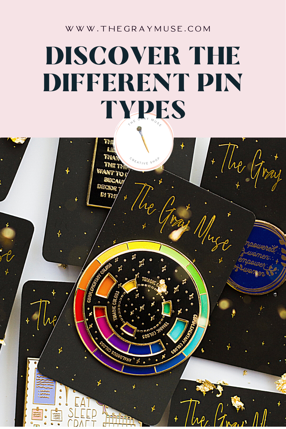 Discover the different pin types