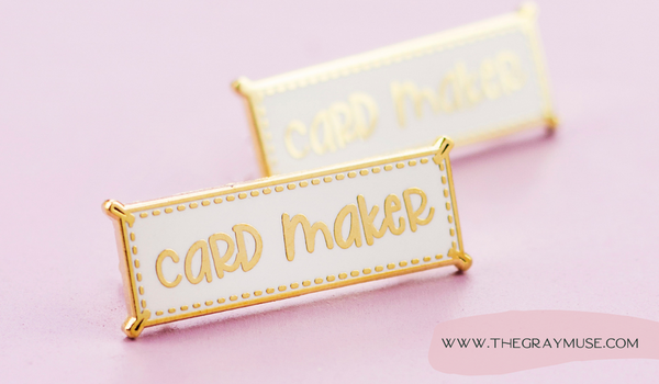 The Gray Muse Blog Enamel Pin Holiday Gift Guide