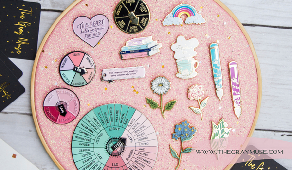 The Gray Muse How To Care For Enamel Pins