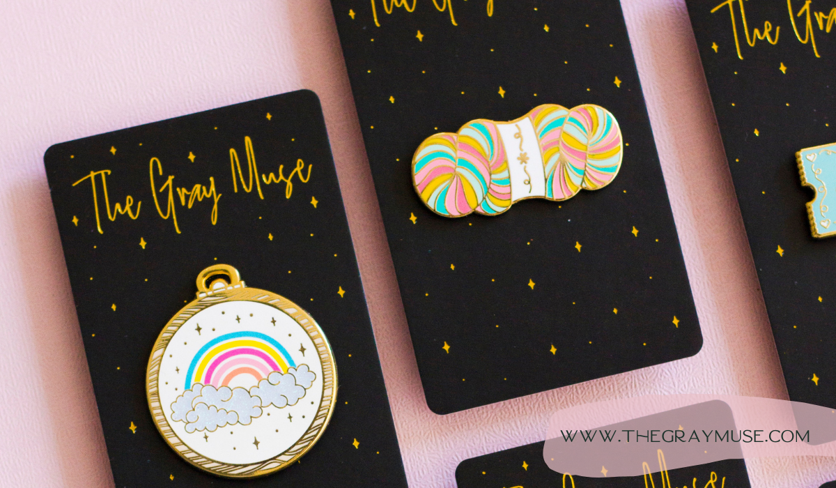 The Gray Muse Pins