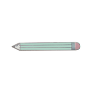 Pencil Enamel Pin