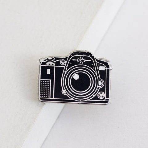 DSLR Camera Enamel Pin