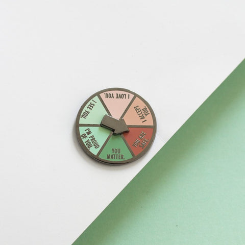 Inner Child Spinner Enamel Pin