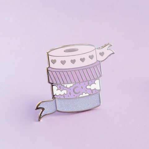 Washi Tape Enamel Pin