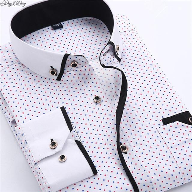 Star Long Sleeve Button Up
