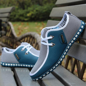Patchwork Loafer Shoes