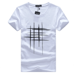 Cross Print T-Shirts